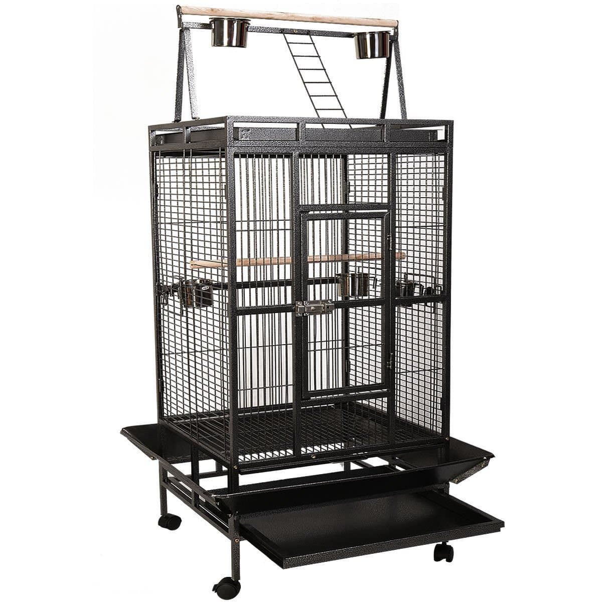 Giantex Bird Cage Large Play Top Parrot Finch Cage