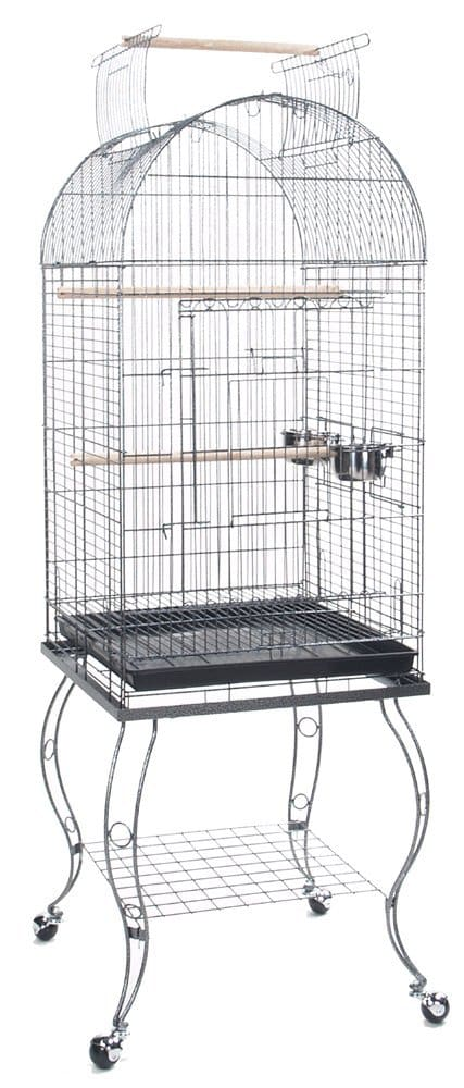 Bird Cage Of Wrought Iron