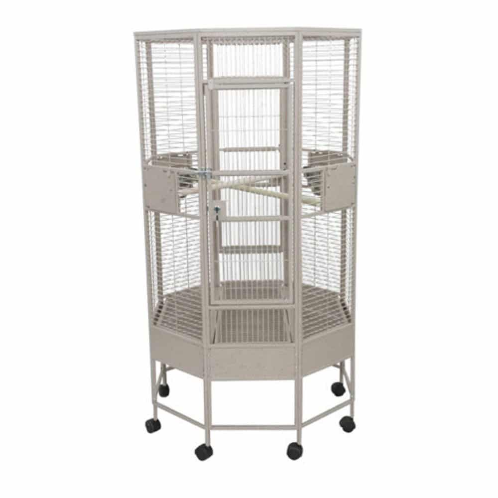 Octagon Parrot Cage