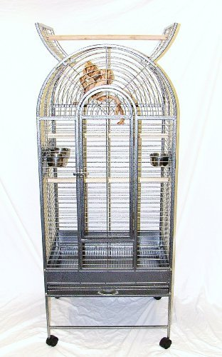 African Grey Parrot Cage by Bird Cage Naples