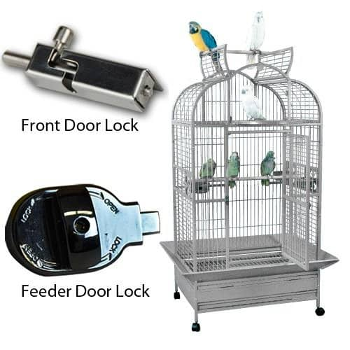 KING'S CAGES SLT 3628 / GC6-3628 Large Parrot Cage