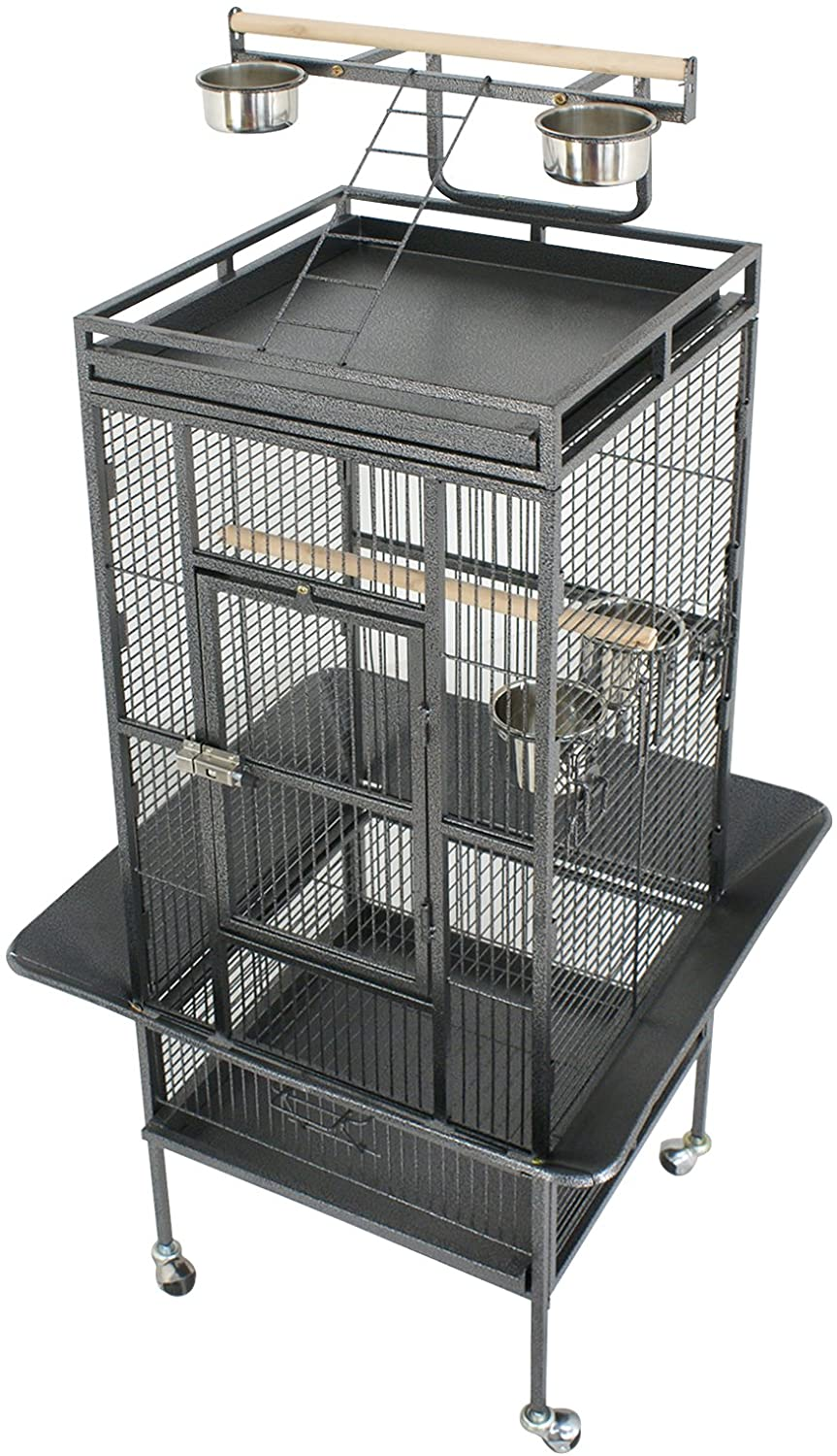 Averill YPT18 Small Bird Parrot Play top Cage for Pionus